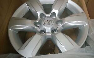 TOYOTA PRADO GXL 150 series Genuine alloy wheel 2014-2015 17x7.5 BRAND NEW