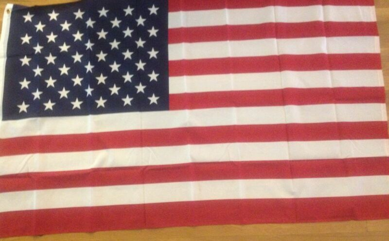 LOT of 5 FLAGS USA FLAG AMERICA NEW LOT OF USA FLAGS