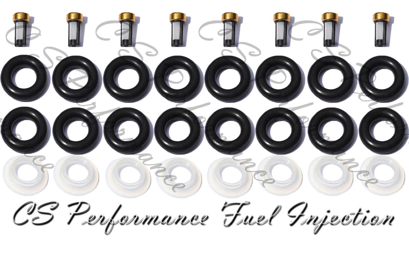 KIT REPAIR REBUILD SERVICE  Bosch 0280150556  Injector FILTERS CAPS ORINGS