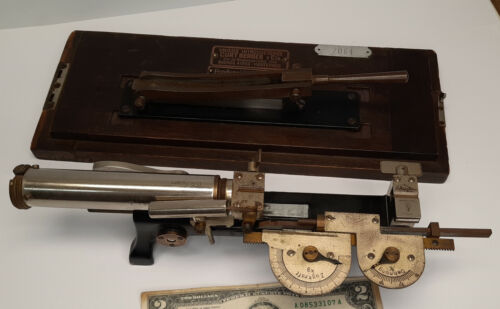 Antique Louis Schopper German Apparatus test tensile strength of paper mills