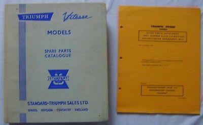 Triumph Vitesse Saloon & Convertible Original Spare Parts Catalogue