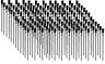LOT OF 144  ACID FLUX BRUSH 6