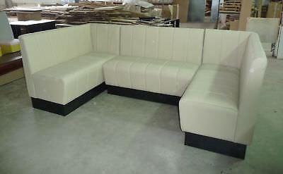Restaurant corner Furniture booth bench sofa vintage restaurant furniture for sale  Maidstone