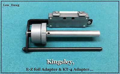 Kingsley Machine  E-z Foil Adapter Kt-4 Adapter Hot Foil Stamping Machine