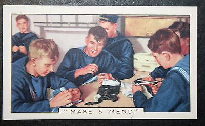 HMS Nelson  Crew    Make & Mend   Colour Card # CAT A