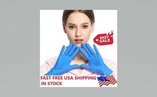 1000Pcs Nitrile Exam Gloves Non Powdered XS - XXL 4 Mil