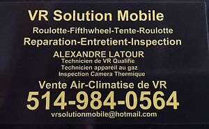 INSPECTION DE VR PAR CAMERA THERMIQUE FIFTH WHEEL