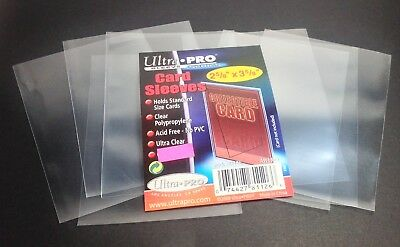SALE! 25 Ultra Pro Card Sleeves Lot For Pokemon Cards