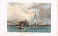 1830 Circa ,napoli Dal Mare, Incisione Su Acciaio.di -  - ebay.it