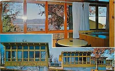 c1950s Bowen's Cabins at Campbell Point, Table Rock Lake, Missouri Postcard, used for sale  Lincoln