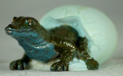 Baby Crocodile Hatching from Egg, a Reptile Lover or Terrarium Owner's Gift