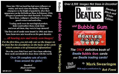 The Beatles and Bubble Gum - Standard Black and White Edition   AUTHOR SIGNED!!!