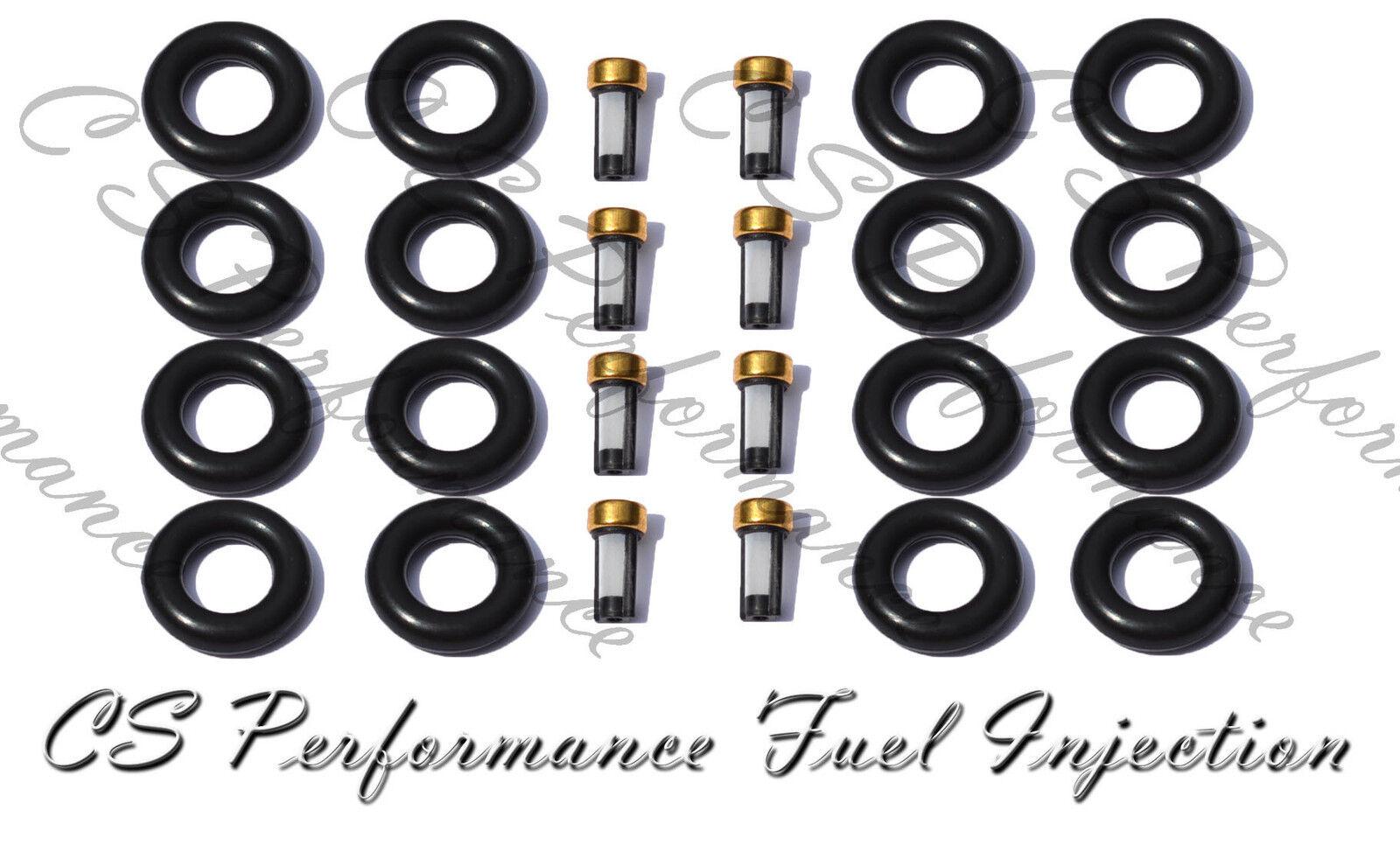 Fuel Injector Service Repair Rebuild Kit Orings Filter
