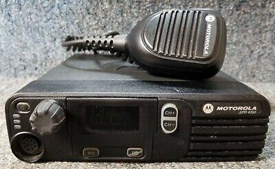 Motorola Xpr4350 Vhf Digital Dmr Mototrbo Mobile Radio 45 Watt 136-174 W Mic