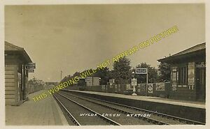Wylde Green Railway Station Photo. Erdington - Sutton Coldfield. Birmingham Line