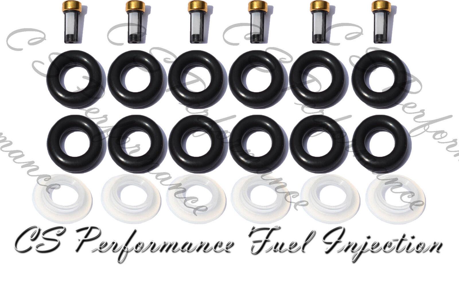 Rebuild Kit Orings Filters Pintle Dodge Ram V8 4.7L 5.7L Fuel Injector Service