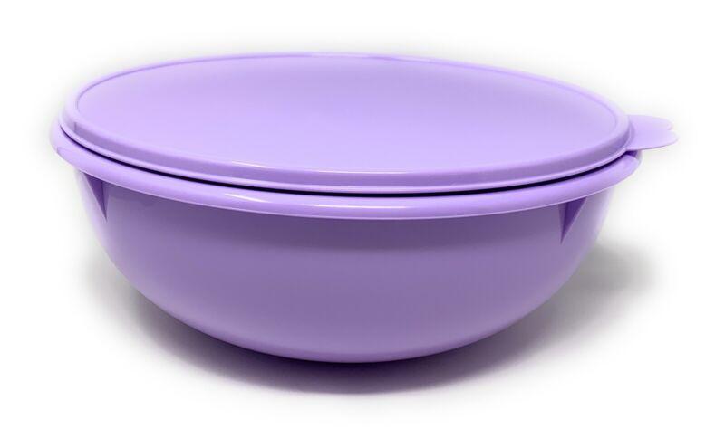 Tupperware Bowl Fix N Mix 26 Cup Purple NEW