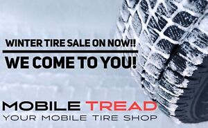 Mobile Tire Service Edmonton!! Best Prices on Winter Tires!!