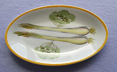 Radford handpainted oval dish