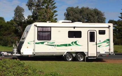 2013 Coromal Element B632S - Shower & Toilet Caravan Guildford Swan Area Preview