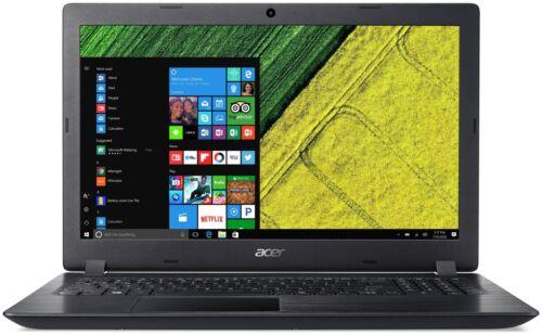 Acer 15.6 Inch HD Intel i3 2GHz 4GB 1TB Windows 10 Laptop - Black