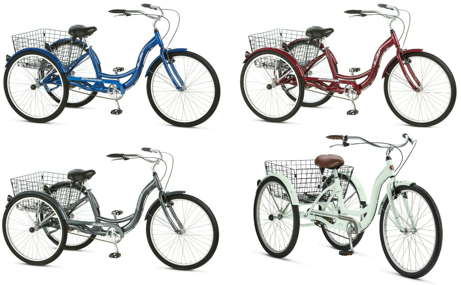 three wheel cruiser bike adult tricycle bicycle