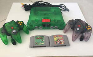 Nintendo 64 Jungle Green Edition + Expansion pack