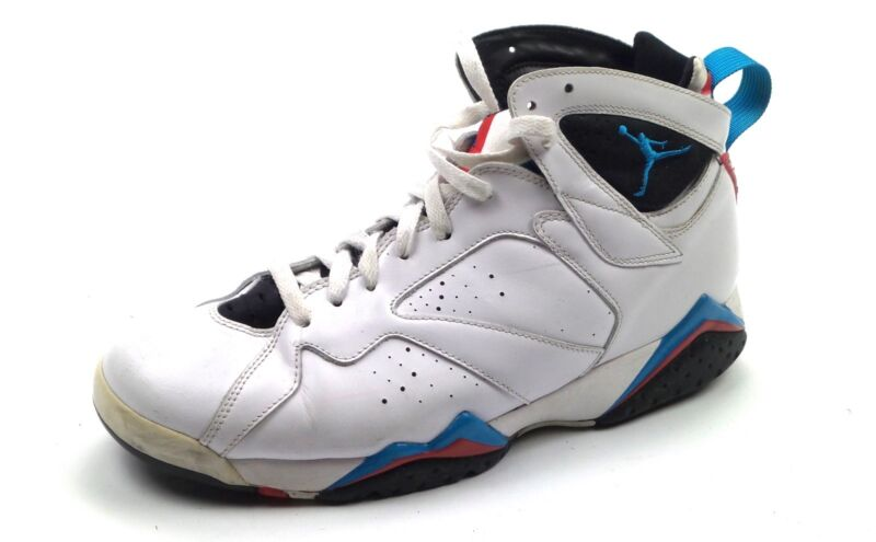the best attitude 5fcdd 4ca30 Details about Nike Air Jordan 7 Retro Orion White Blue Black Infrared  304775-105 Sz 10