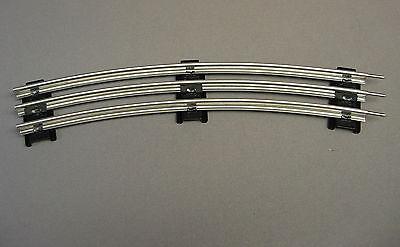 "LIONEL O GAUGE TRACK O42 CURVE 42"" diameter train track circle metal 6-12925"