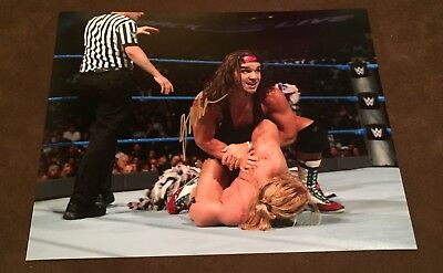 wwe chad gable signed autographed 8x10 photo proof