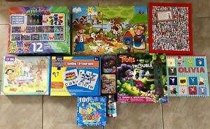 Children's Puzzles and Games