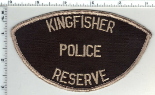 Kingfisher Police Reserve (Oklahoma) 1st Issue Shoulder Patch from the 1970