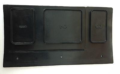 Soap Box Lid Black 613302 For Wascomat Gen-5 Also Good For Gen-4