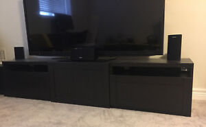 TV entertainment unit with drawers and storage!