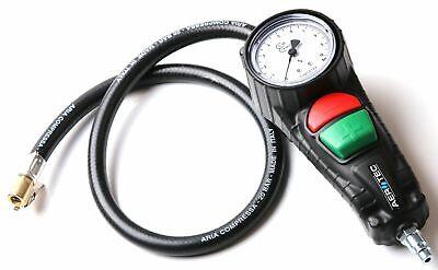 Reifenfüller geeicht Reifendruckmessgerät Luftdruckprüfer Druckluft Aerotec 63