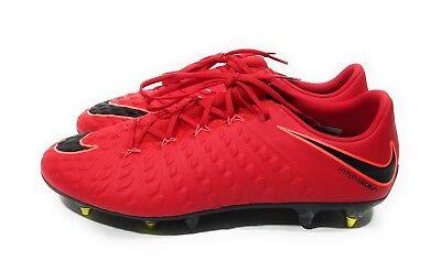 0a54946ae5c0 Nike Hypervenom Phantom III 3 SG Pro Mens Soccer Cleats Red Size 12.5