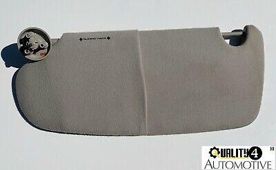 2002-2009 DODGE RAM 1500 2500 3500 Driver Side SUNVISOR GRAY LH Cloth OEM