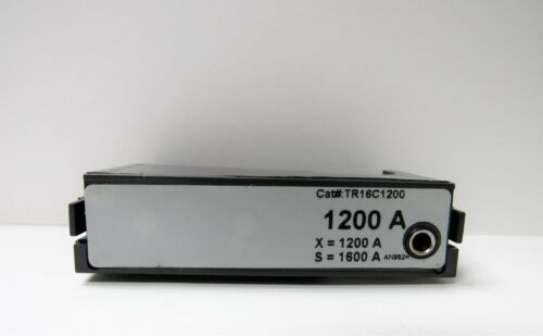 GENERAL ELECTRIC TR16C1200 1200A RATING PLUG