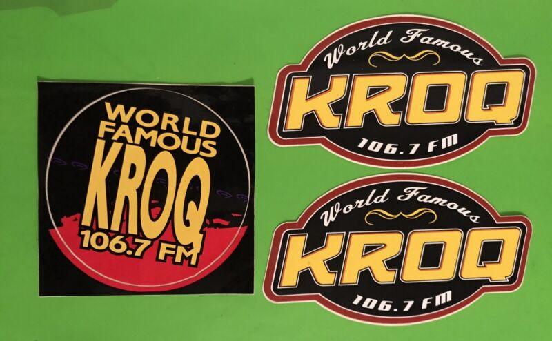 KROQ Sticker Lot