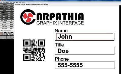 Carpathia 2d Barcode Software Makes Generating Large Volume Jobs Easy
