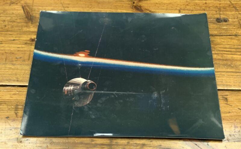 "ORIGINAL 1960s NASA PROJECT GEMINI IN SPACE 11""x14"" PHOTOGRAPH KODAK MCDONNELL"