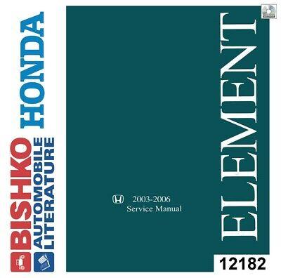 2003 2004 2005 2006 Honda Element Shop Service Repair Manual CD
