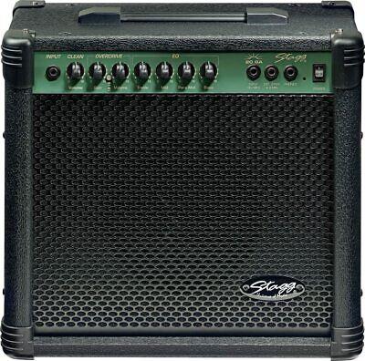 Stagg 20 Watts Electric Guitar Amplifier - Black - 20GA