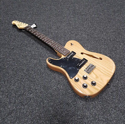 Revelation RFT L/H F-Hole P90 Tele Electric Guitar, Natural 117563