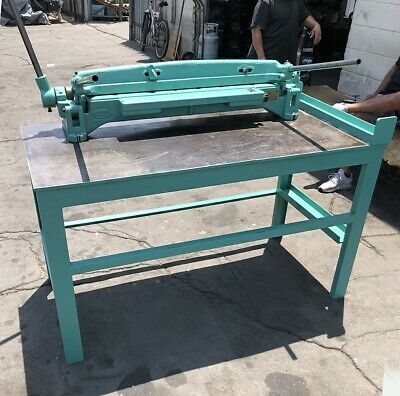 Lk Roper Whitney Pexto 55 Adjustable 36 X 20ga. Bar Folder Sheet Metal Brake