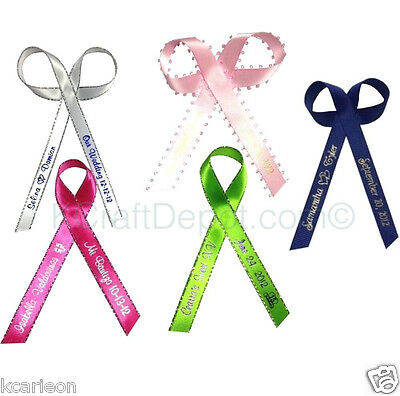 50 Personalized Ribbons 1/4