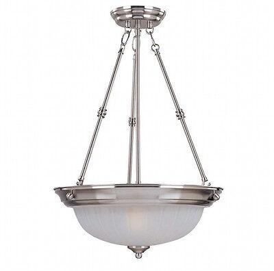 Maxim Lighting Essentials Pendant 5835FTSN, 3-Light 24