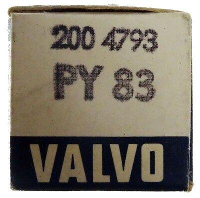 GEPRÜFT: PY83 Radioröhre, Hersteller Valvo. ID16921