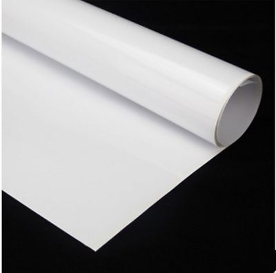 White Writing Film Dry Erase Board Home Office Use 60x20 Whiteboard Film