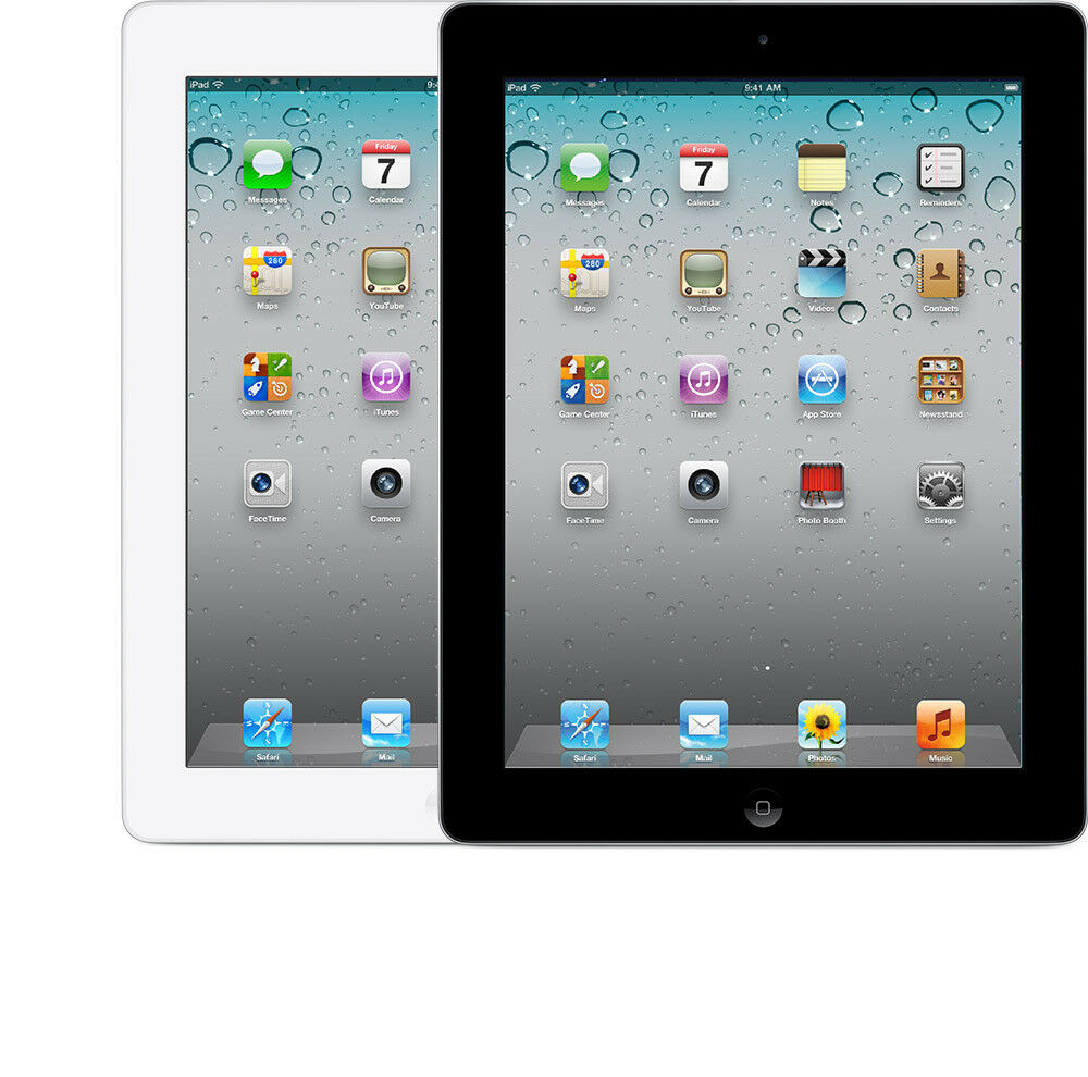 Apple iPad 2/3/4 Generation, 16GB, 32GB, 64GB, Wi-Fi, 9.7in